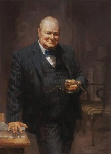 andy thomas winston churchill