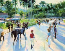howard behrens day at the races
