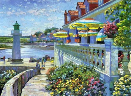 howard behrens lighthouse at sauzon