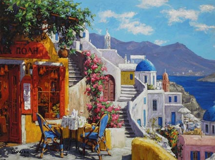 viktor shvaiko afternoon on the aegean