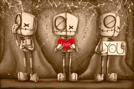 fabio napoleoni i love you sepia