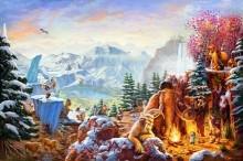 thomas kinkade ice age