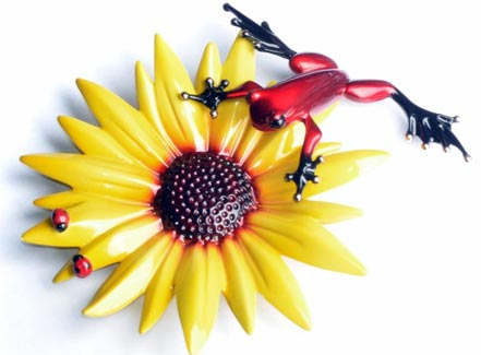frogman sunflower