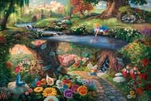 thomas kinkade alice in wonderland