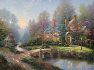 Thomas Kinkade Beyond Spring Gate