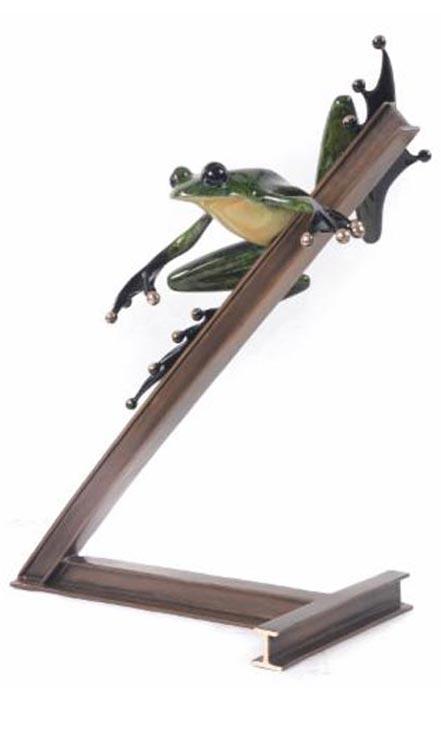 frogman breaks over