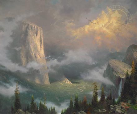thomas kinkade west rim yosemite
