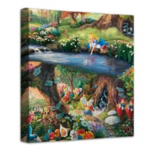 """Alice in Wonderland – 14"""" x 14"""" Gallery Wrapped Canvas"""