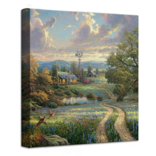 "Country Living – 14"" x 14"" Gallery Wrapped Canvas"