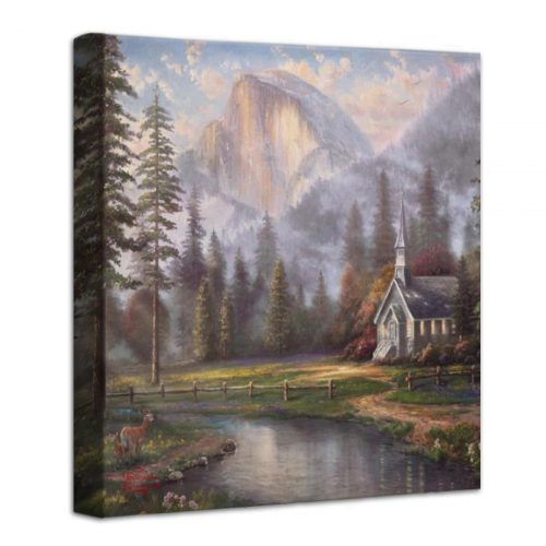 Valley Chapel – 14″ x 14″ Gallery Wrapped Canvas