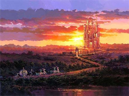 rodel gonzalez castle at sunset
