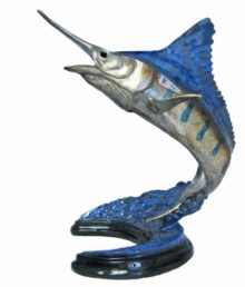 chris barela mini blue marlin