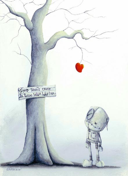 fabio napoleoni good things come to those who wait