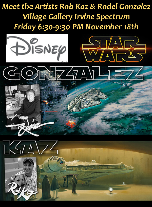 Meet Rob Kaz & Rodel Gonzalez - Star Wars & Disney Artists