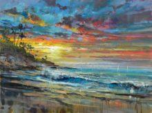 steve quartly laguna sunrise