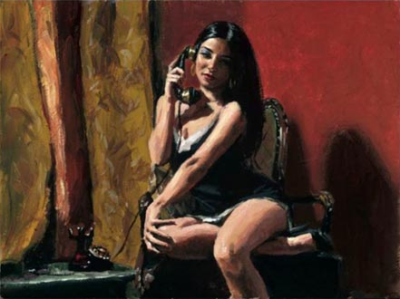 fabian perez arpi in the red room