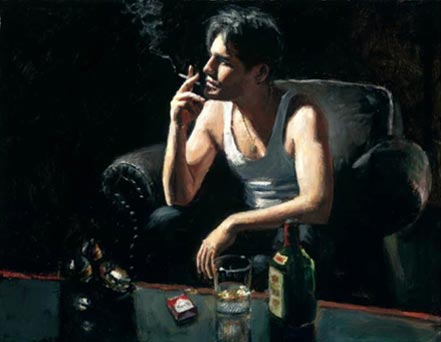fabian perez black phone v