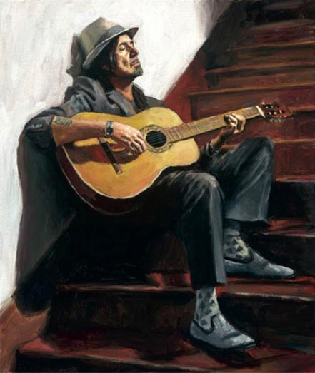 fabian perez the guitar player ii