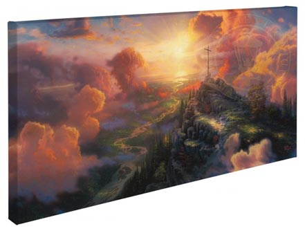 """Cross, The – 16"""" x 31"""" Gallery Wrapped Canvas"""