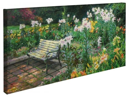 "Eternal Springtime – 16"" x 31"" Gallery Wrapped Canvas"