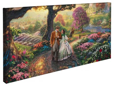"Gone with the Wind – 16"" x 31"" Gallery Wrapped Canvas"