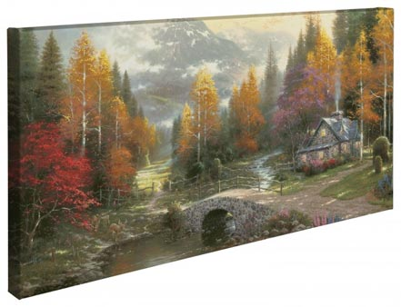"Valley of Peace – 16"" x 31"" Gallery Wrapped Canvas"