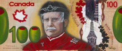 Godard $100 Bill Canadian Canada On Ice