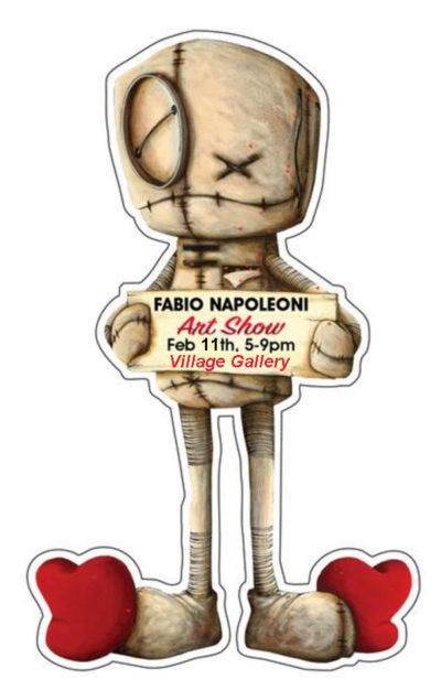 Village Gallery Fabio Napoleoni Art show