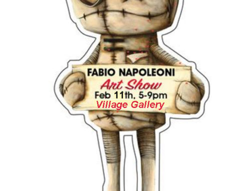 Fabio Napoleoni In Person February 11th 5-9 PM