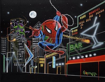 michael godard spider-tini