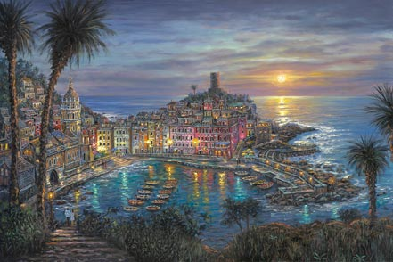 robert finale vernazza sunset