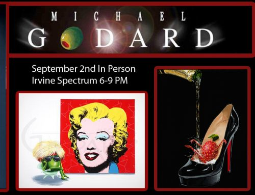 Michael Godard Rock Star of the Art World In Person September 2nd