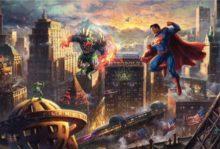 thomas kinkade superman man of steel