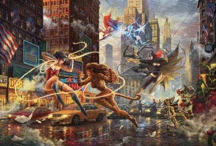 thomas kinkade the women of dc
