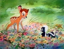 Bambi Disney Clay Pacheco Bright New World