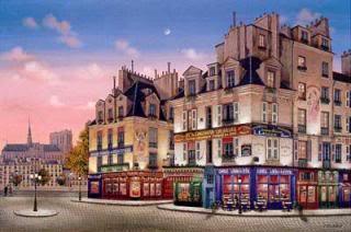 Kondakova Notre Dame at Dawn