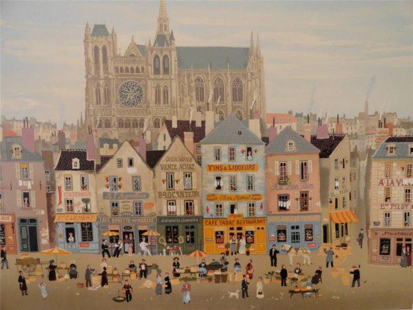 Michel Delacroix Cathedrale d amiens