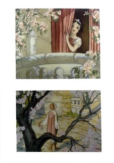 Gustaf Tenggren Disney Snow White Serenade