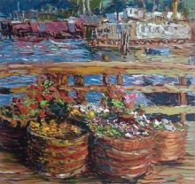 Marco Sassone Houseboat Flowers