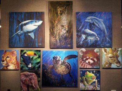 Stephen Fishwick Art Show Village Gallery