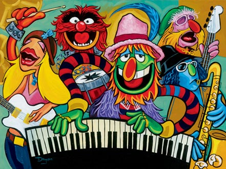 disney electric mayhem band