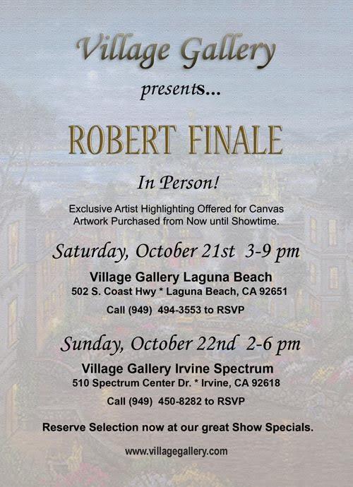 Robert Finale Art Show