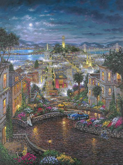 Robert Finale Moon Light Over Lombard