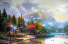 Thomas Kinkade End of A Perfect Day III