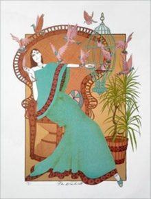 Mr. Blackwell Turquoise Lady