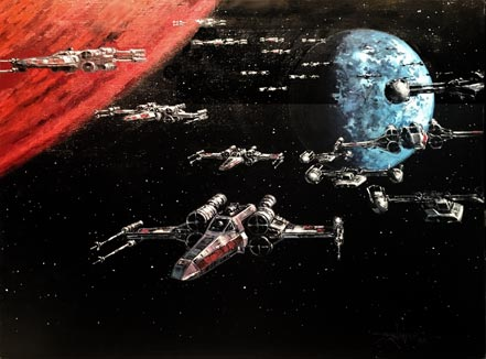 rodel gonzalez battle of yavin