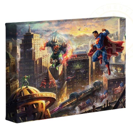 thomas kinkade superman man of steel