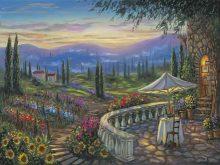 robert finale tuscan flowers