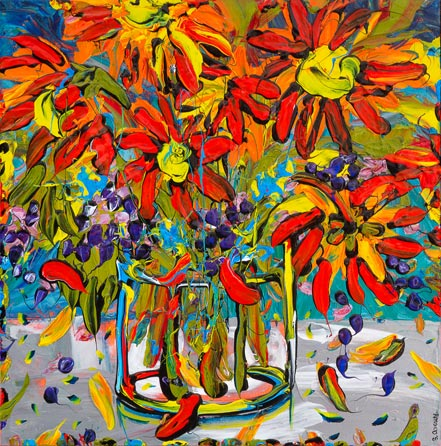 sue averell fire cracker flowers
