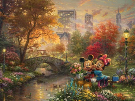 mickey and minnie sweetheart central park
